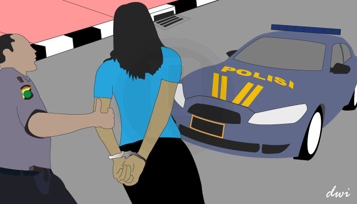 Seorang Ibu Rumah Tangga Ditangkap Polisi karena Sebar Kebencian di Medsos