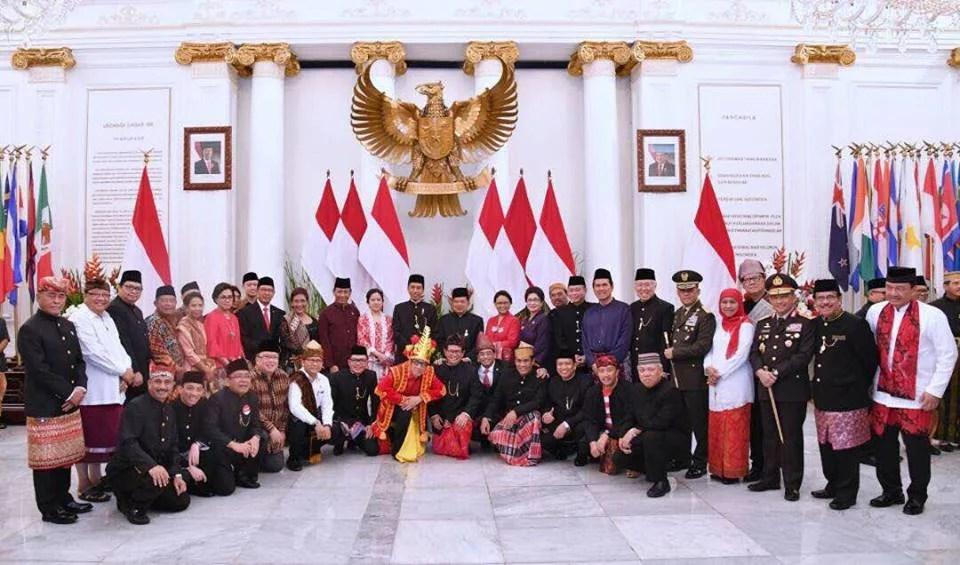 Peringati Hari Lahir Pancasila ke-72, Presiden Jokowi: Kodrat Bangsa adalah Keberagaman