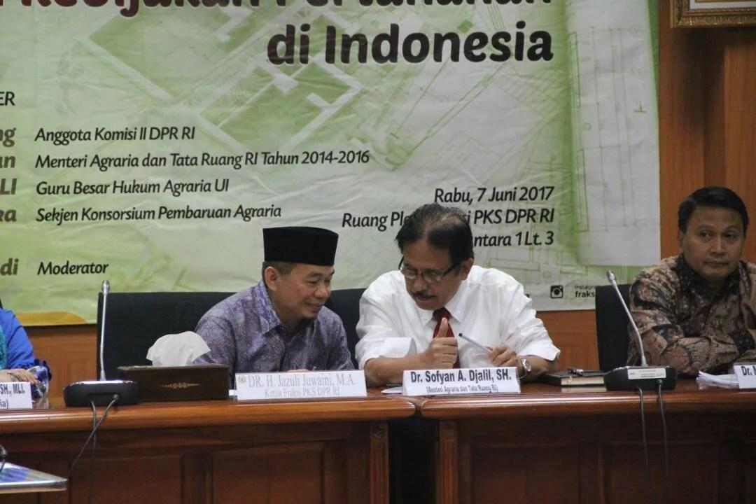 Gelar FGD, PKS Ingatkan Pemerintah Soal Kebijakan di Sektor Pertanahan
