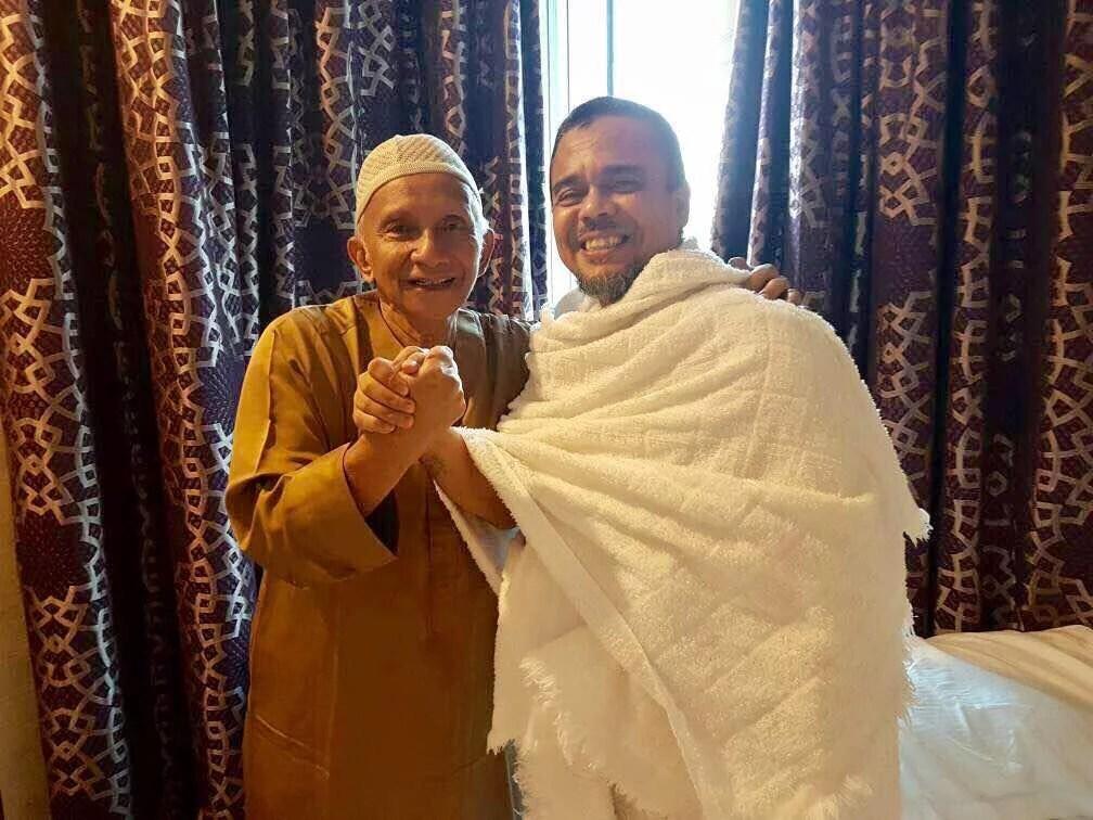 Kompaknya Rizieq dan Amien Rais saat Bertemu di Mekkah