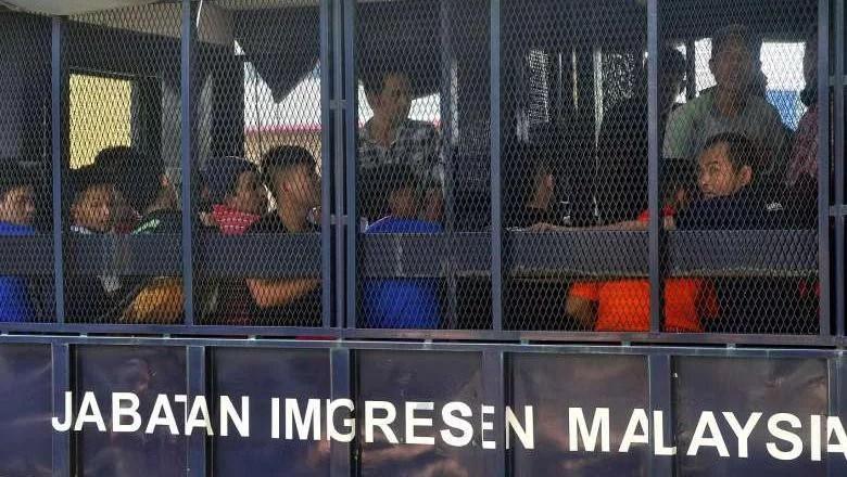 195 TKI Ikut Ditahan Otoritas Malaysia Bersama 1500 Pekerja Ilegal