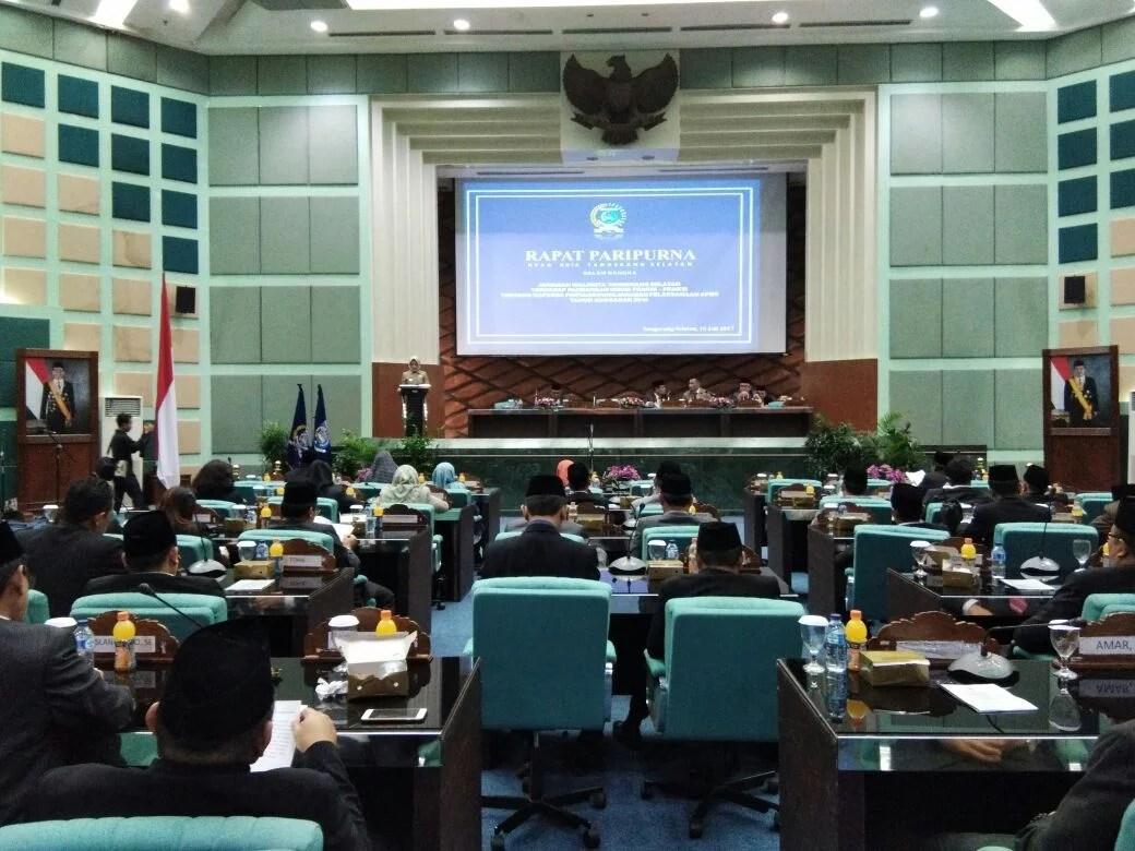 Pemkot Tangsel Berterimakasih Atas Dukungan Fraksi DPRD Terkait Raperda 2016