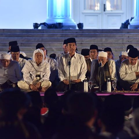 Syukuri Nikmat Kemerdekaan Indonesia, Presiden: Hargai Kelompok dan Golongan