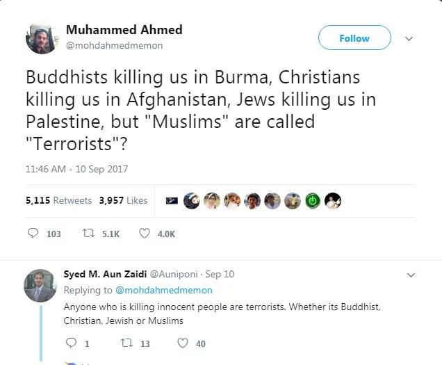 Viral Di Twitter, Pria Asal India Membungkam Musuh Islam