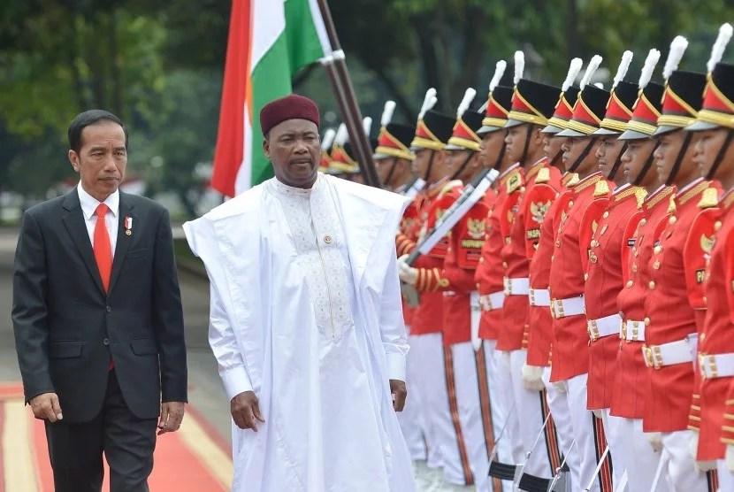 Kunjungi Indonesia, Presiden Niger: Islam Dirusak oleh Teroris