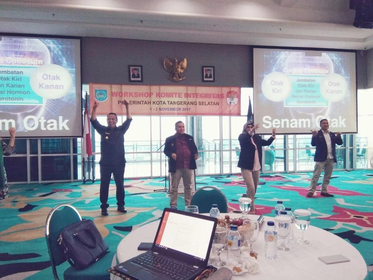 Gandeng KPK Gelar Workshop, Pemkot Tangsel Bentuk Tunas Integritas