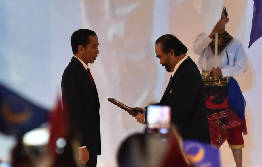 NasDem Komit Dukung Jokowi di Pilpres 2019