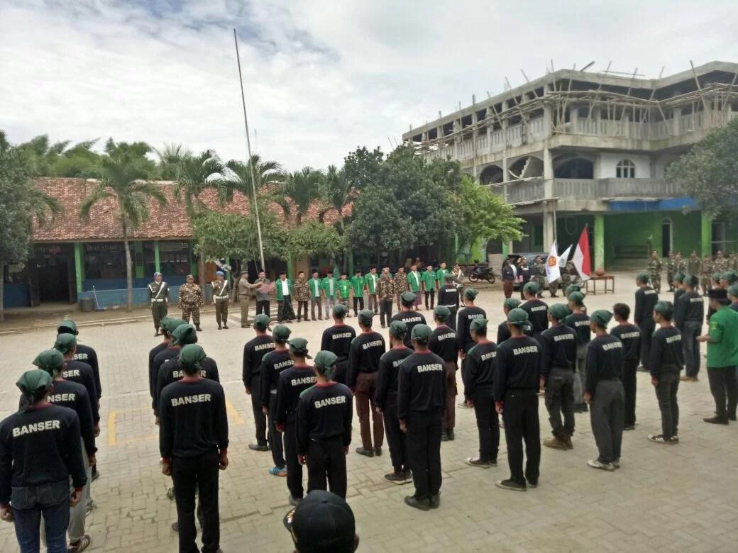 Bantu Amankan Natal dan Tahun Baru, Banser Tangerang Gelar Kesiapan Pasukan