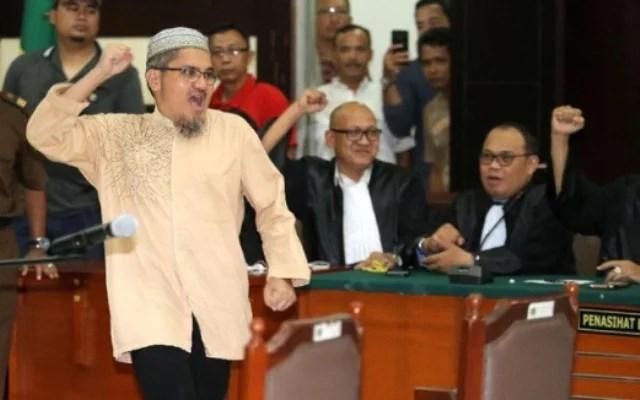 Terdakwa Jonru Ginting Divonis 1,5 Tahun Penjara