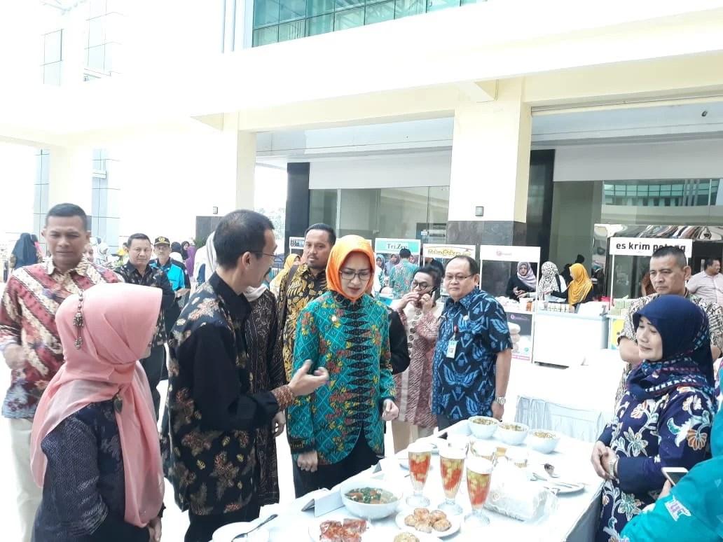 Walikota Tangsel Buka Lomba Cipta Menu B2SA 2018