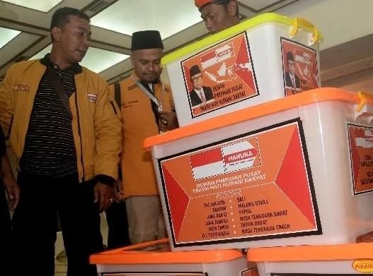 Serahkan Berkas Perbaikan Sengketa Di Hari Terakhir, Partai Hanura Siap Mediasi dengan KPU
