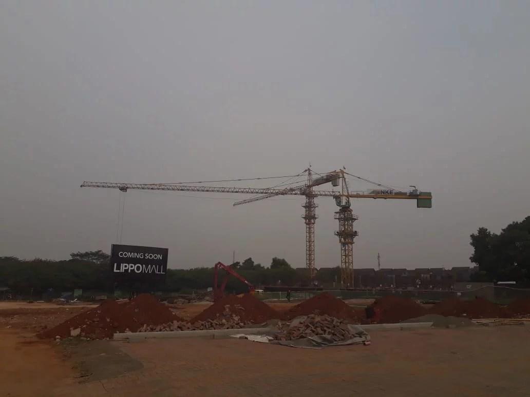 Proyek Pembangunan Apartement Bintaro Embarcadero Diduga Belum Mengantongi Izin