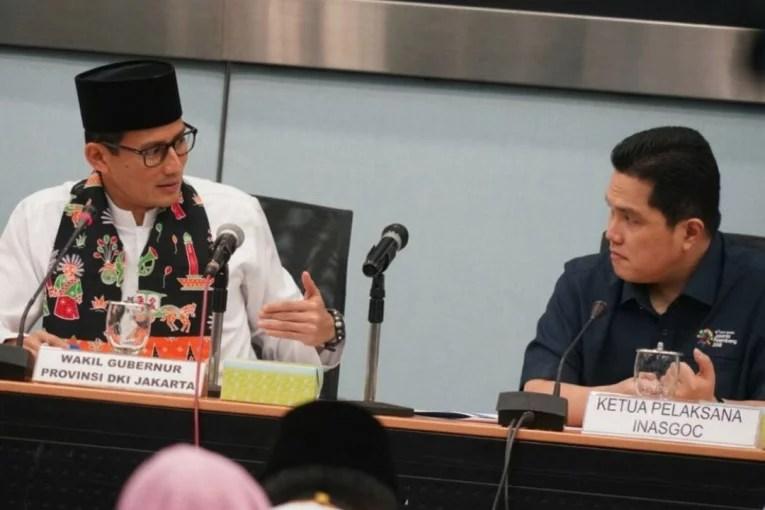 Teman Karibnya Erick Thohir Jadi Ketua Timses Jokowi-Ma'ruf, Sandiaga Uno Khawatir
