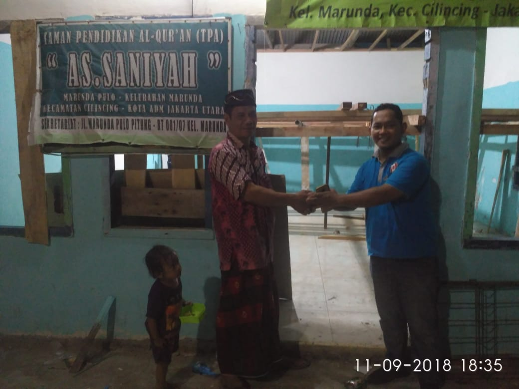 Sohib Indonesia Gagas Program Bantuan Pembangunan Musholla di DKI Jakarta