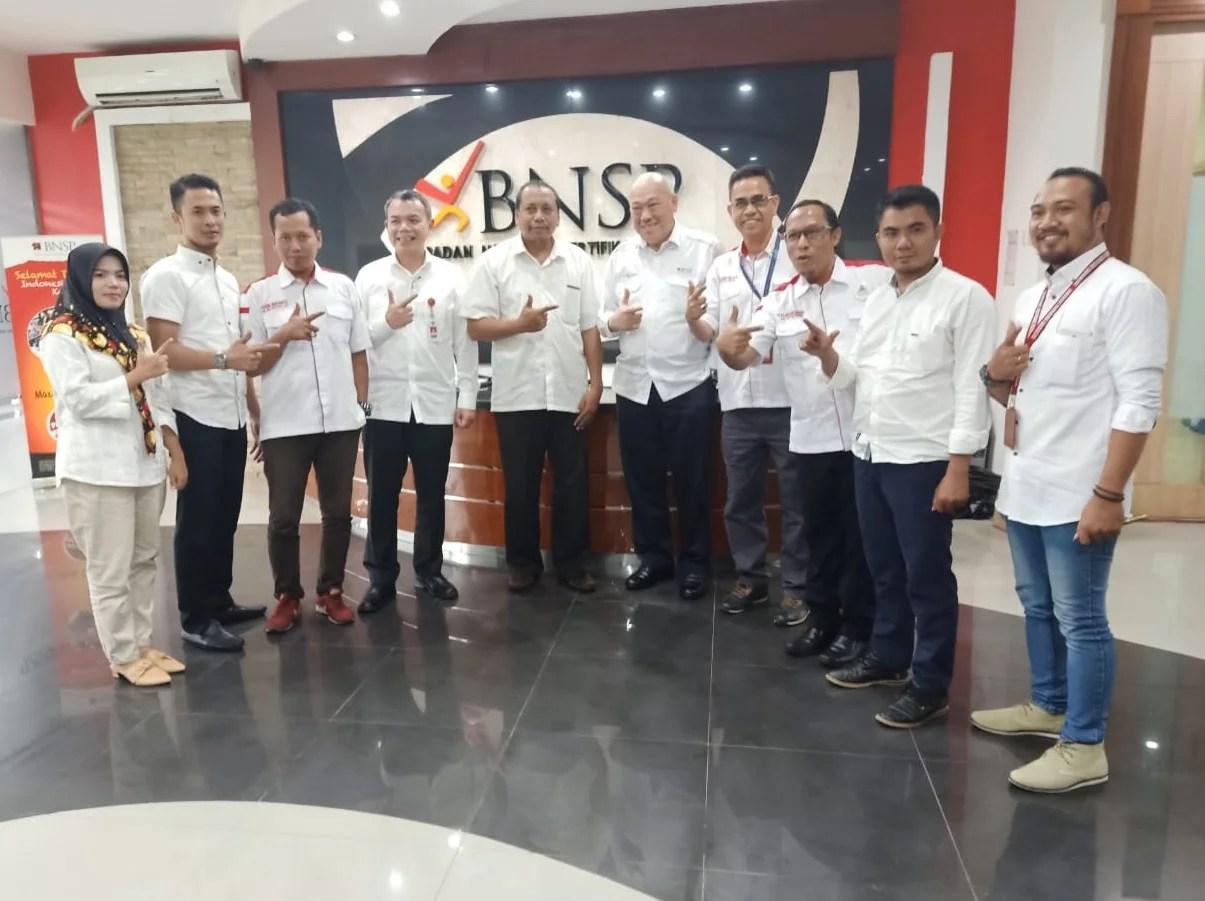 Kedatangan KAPTEN INDONESIA disambut Baik oleh Ketua BNSP