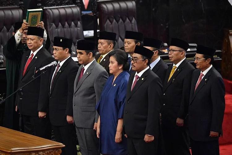 Profil dan Harta Kekayaan 10 Pimpinan MPR RI Periode 2019-2024