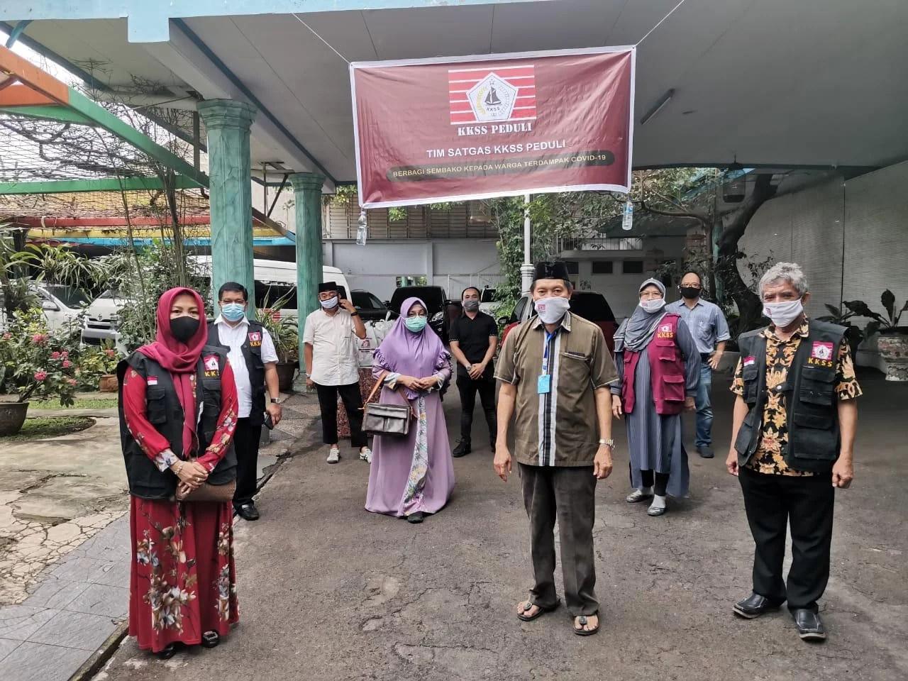 BPP KKSS Serahkan Bantuan Paket Sembako