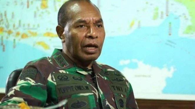 Joppye Onesimus Pemuda Kuli Aspal Yang Jadi Jenderal TNI AD