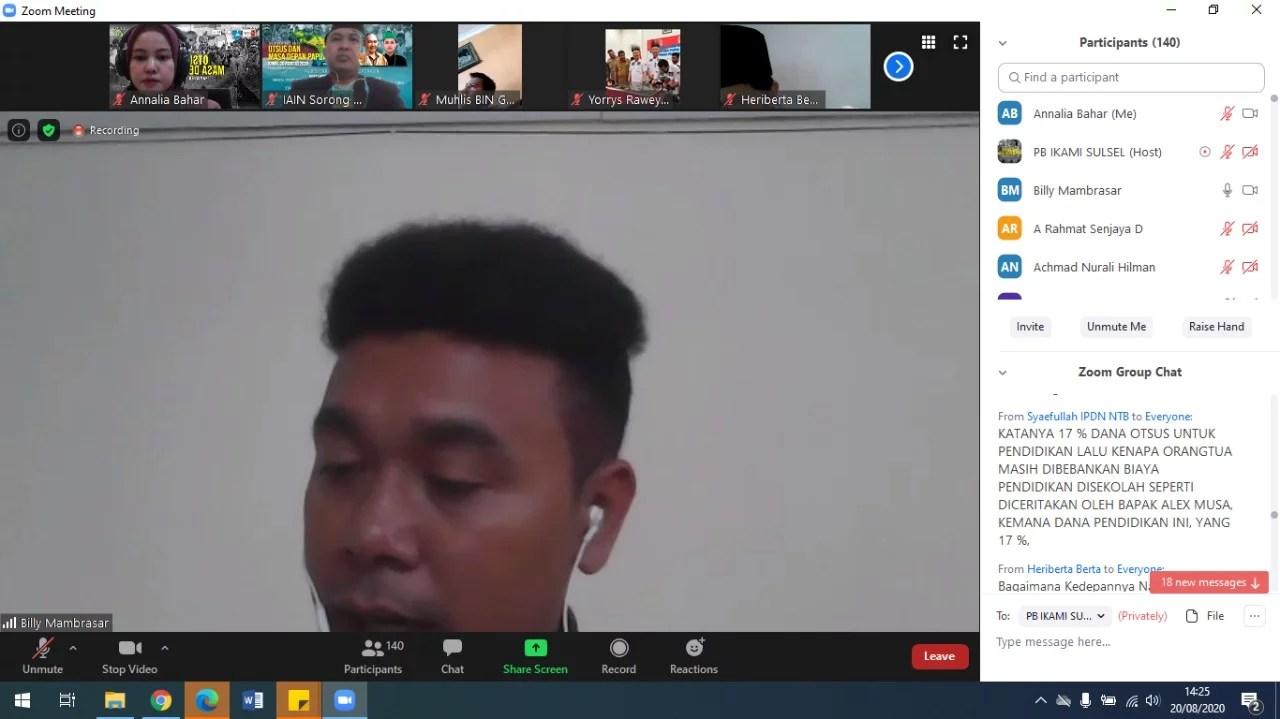 Pendidikan Papua masih Tertinggal, Stafsus Presiden: Karena Itu saya Mendirikan Yayasan