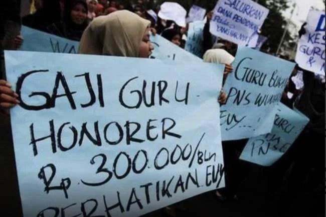 DPR Minta Pemerintah Jangan Lupakan Kesejahteraan Guru Honorer
