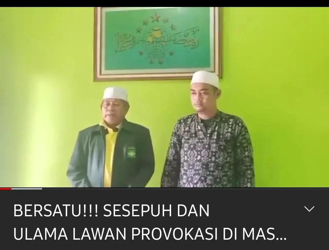 Dari Cirebon Tokoh Agama dan Masyarakat Ini Beri Dukungan Untuk Polri