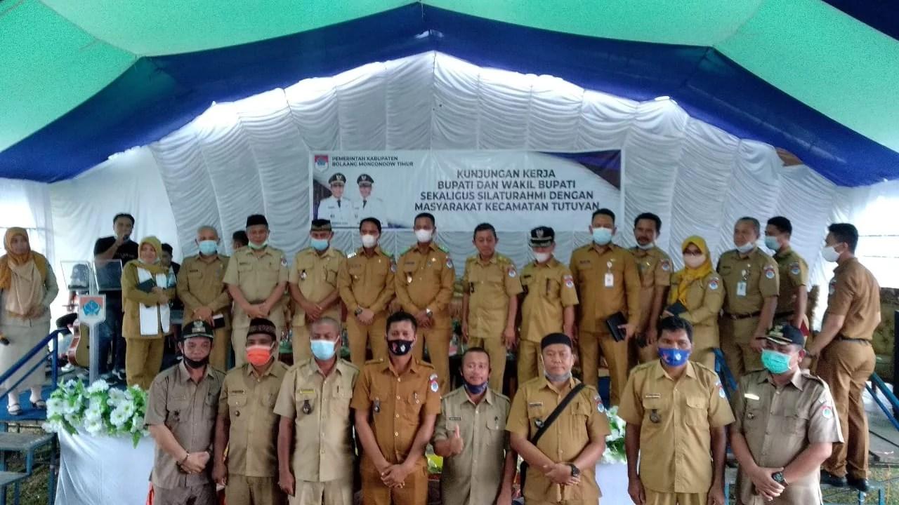 Bupati-Wakil Bupati Boltim Lakukan Kunker dan Silaturahmi di Dua Kecamatan