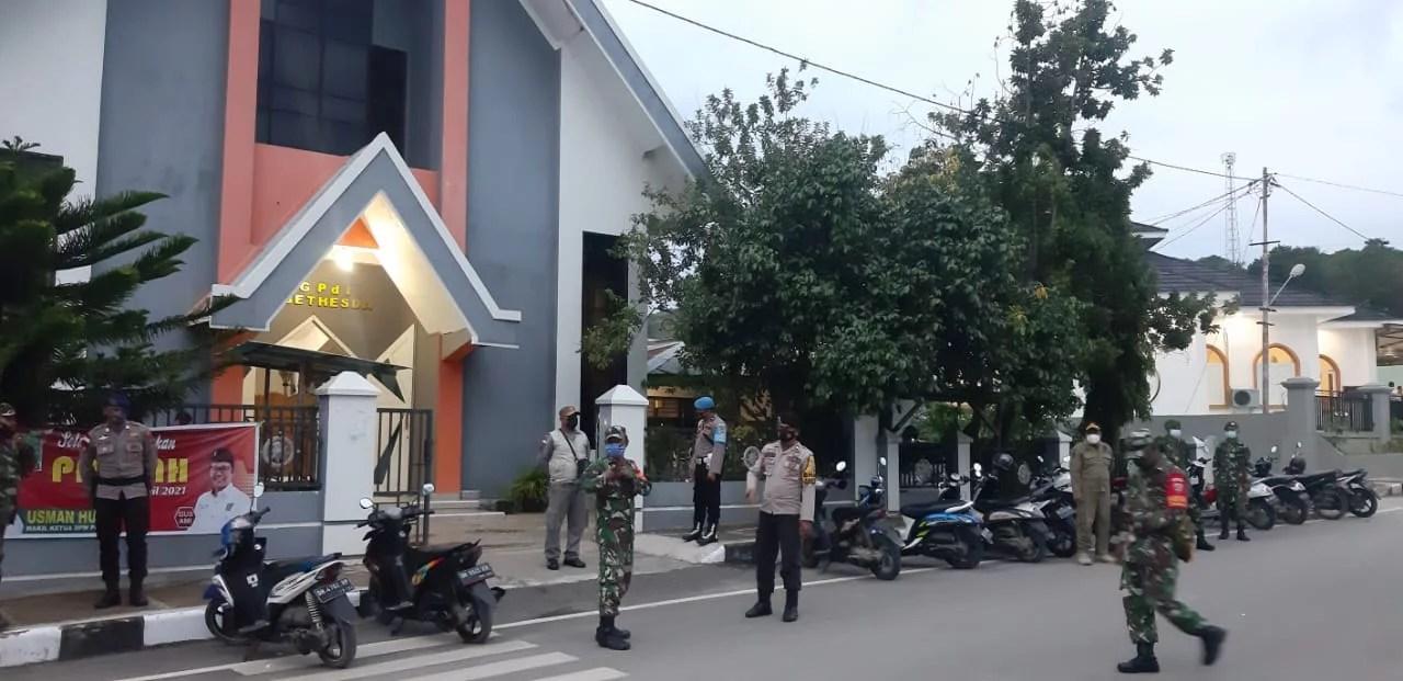 Antisipasi Kejadian Makassar, Begini Tindakan Antisipasi Polisi Amankan Gereja di Rote Ndao