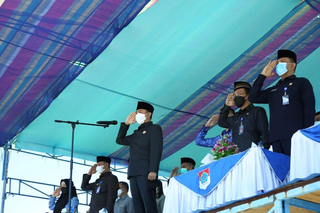 Bupati Boltim Pimpin Upacara Peringatan Hari Kebangkitan Nasional Ke-113
