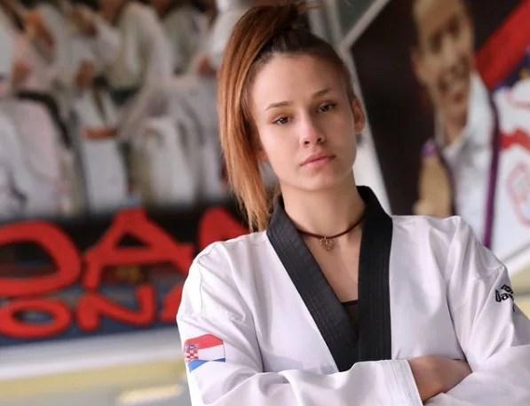 Cantik tapi Ganas, Matea Jelic dari Kroasia Sang Jawara Taekwondo di Olimpiade Tokyo