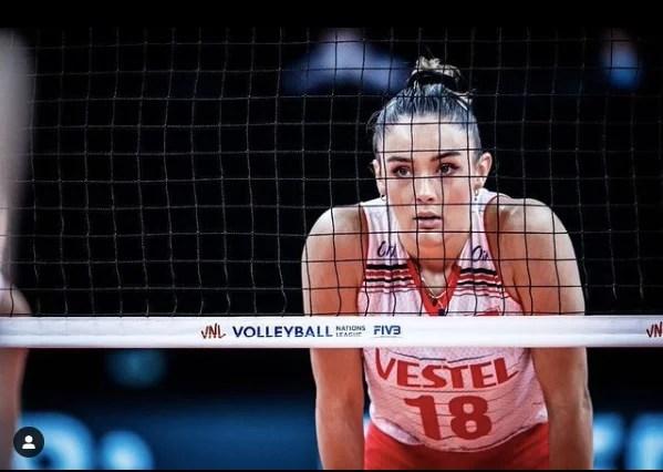 Cantik dan Seksi, Zehra Gunes Bintang Volley Ball Turki di Olimpiade Tokyo
