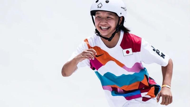 Kisah Momiji Nishiya Remaja Putri 13 Tahun Peraih Emas di Olimpiade Tokyo