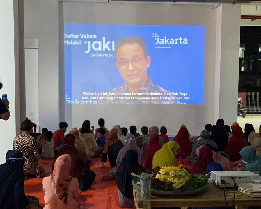 Tasyakuran Peresmian Rusun Kampung Aquarium Sohib Indonesia Gelar Nobar Virtual Wayang