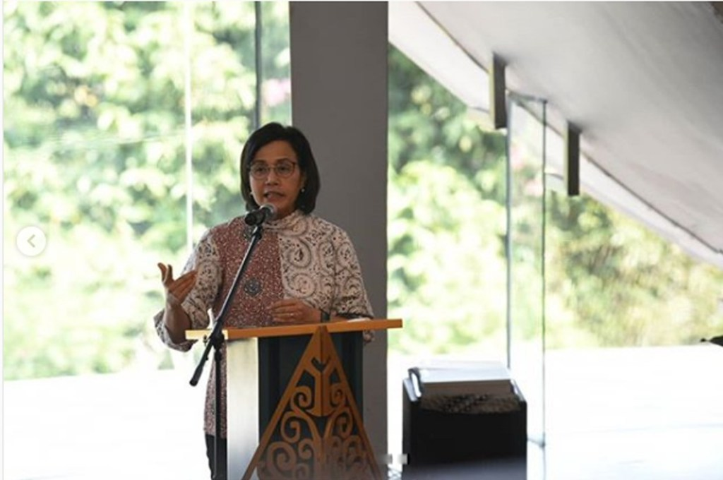 Menteri Keuangan Sri Mulyani Indrawati foto IG @smindrawati