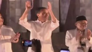 Photo of Bantah Berjoget, Ma'ruf Amin: Saya Tepuk Tangan Saja