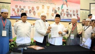 Photo of Prabowo Capres Pilihan Ulama