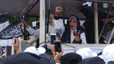Photo of Di Aksi Bela Tauhid, Neno Warisman Semangati Umat Islam dalam Berjuang