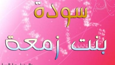 Photo of Saudah binti Zam'ah, Cermin Istri Salihah
