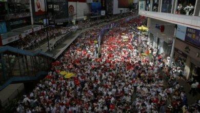 Photo of Setengah Juta Orang di Hong Kong Protes Hukum Ekstradisi China