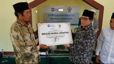 Photo of Bersama DMI, Human Initiative Resmikan Masjid Nurul Hidayah di Lombok