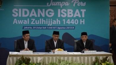 Photo of Idul Adha 1440 H Jatuh pada 11 Agustus 2019