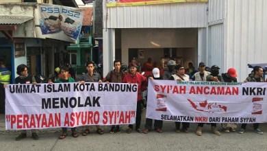 Photo of PPNKRI Tolak Perayaan Asyuro Kelompok Syiah di Bandung