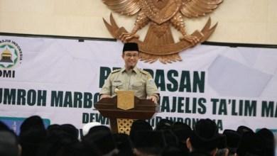 Photo of Anies Umrohkan 417 Marbot Masjid dan Pengurus Majelis Ta'lim