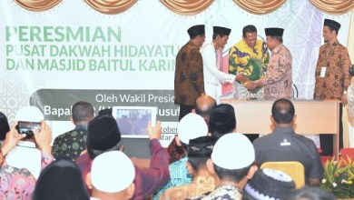 Photo of Wapres JK Resmikan Gedung Dakwah Hidayatullah