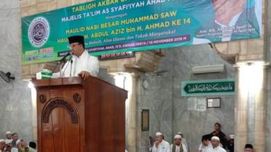 Photo of Hadiri Maulid di Masjid Al Barkah, Anies Didoakan jadi Presiden