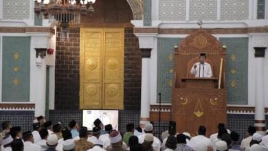 Photo of Di Masjid Raya Baiturahman, Menag Bilang tak Pernah Larang Cadar dan Celana Cingkrang