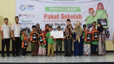 Photo of BMH Bagikan 250 Paket Pendidikan untuk Dhuafa di Yogyakarta