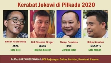 Photo of Aji Mumpung, Empat Keluarga Jokowi Mau Maju Pilkada 2020