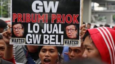 Photo of Protes Menteri Yasonna, Ratusan Warga Priok Datangi Kantor Kemenkumham