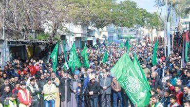 Photo of Warga Gaza Beramai-ramai Ikuti Aksi Tolak 'Deal of Century'