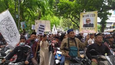 Photo of Demo Konjen India, Umat Islam Medan: Hentikan Pembantaian terhadap Kaum Muslimin!